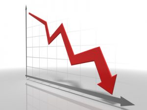 chart-red-downward-arrow