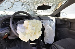 Automobile Accidents with airbag deployed