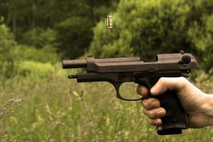 Gunshot Residue Can End Up on Hands